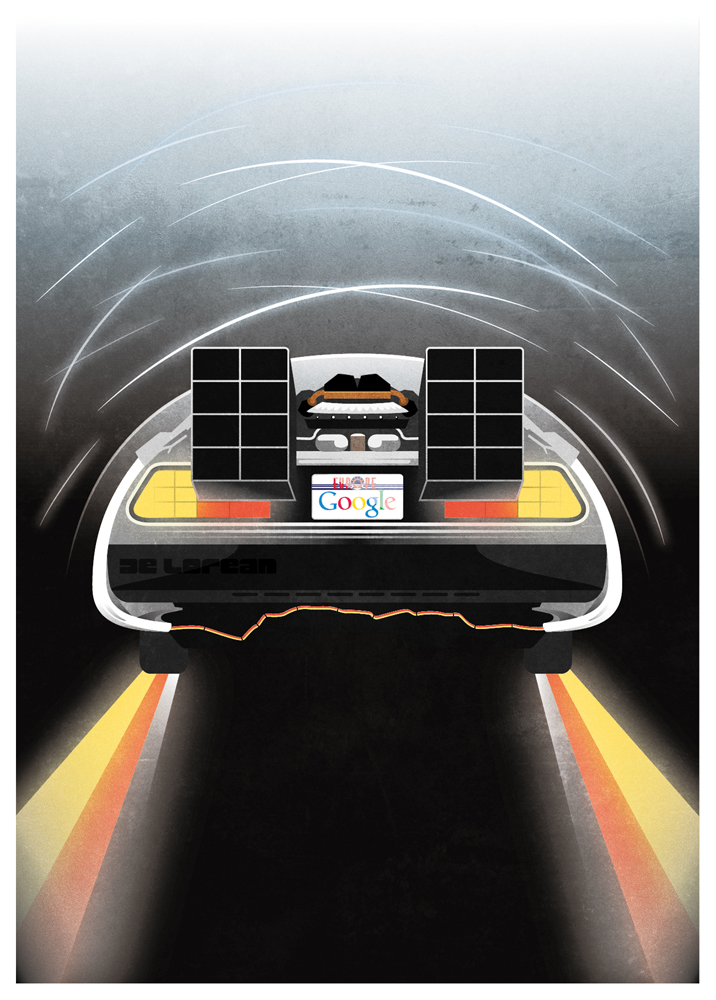 La Delorean de Google